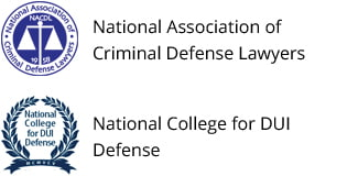 National Association Criminal Defense Lawyers & National College for DUI Defense Badges